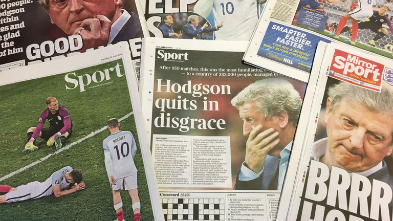 england headlines